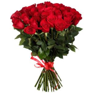 Розы Голландия красные