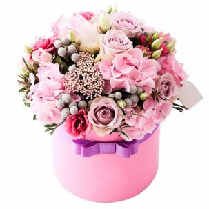 "Цветы в коробке ""Серенада"""